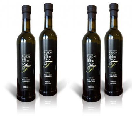 Estuche 4 Botellas Hacienda Fuencubierta 500 ml.